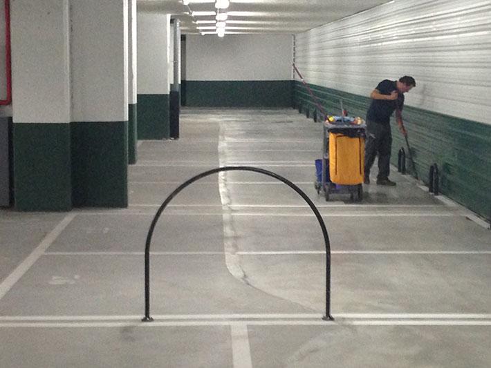 Empresas de limpieza en Madrid - Garajes