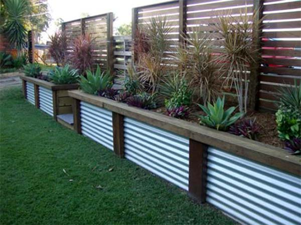 vallas para jardin